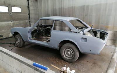 Restoring a 504 Coupe V6 Part 2 / Restauration d'un 504 Coupe V6 Partie 2